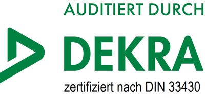 Auditiert durch DEKRA