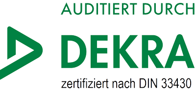 Auditiert durch DEKRA